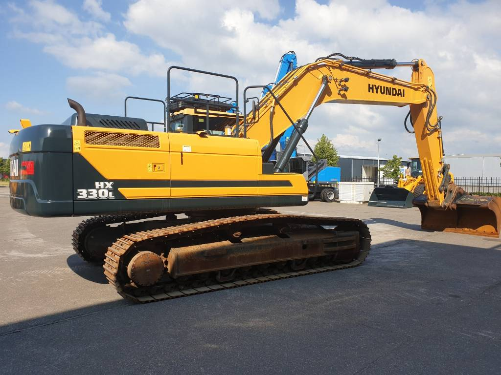 Hyundai HX 330 L, Crawler Excavators, Construction Equipment