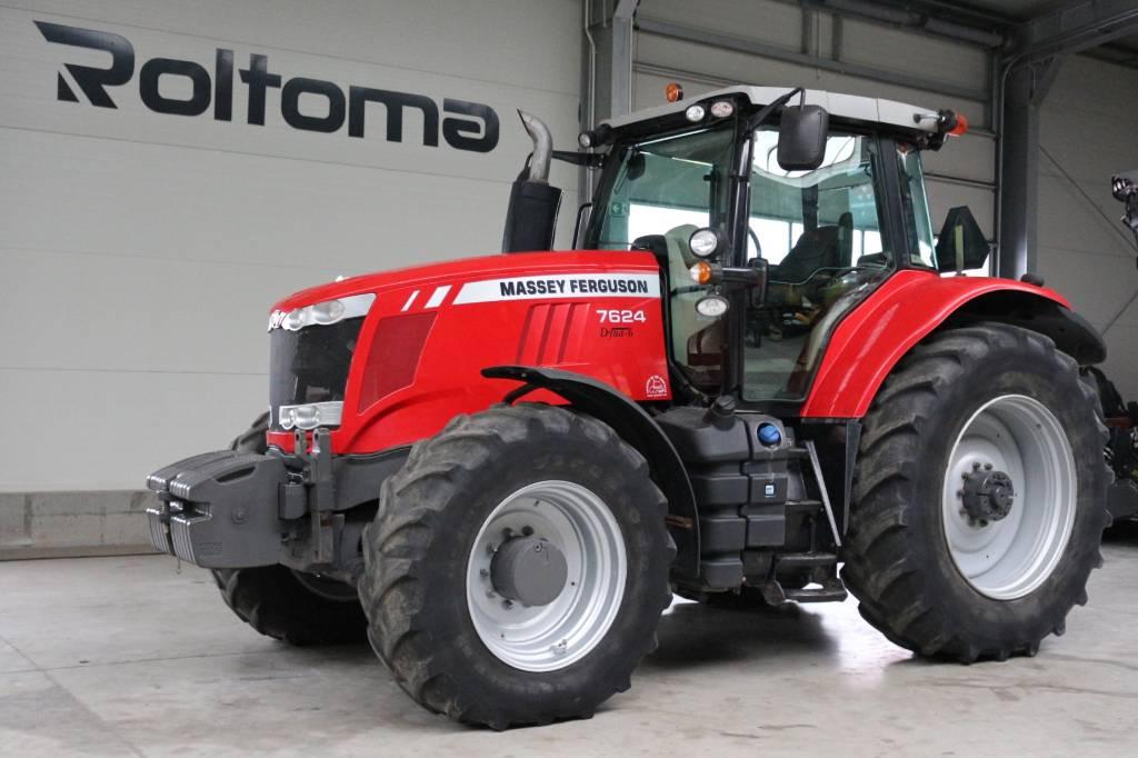 Massey Ferguson 7624 Dyna 6, Traktory, Maszyny rolnicze