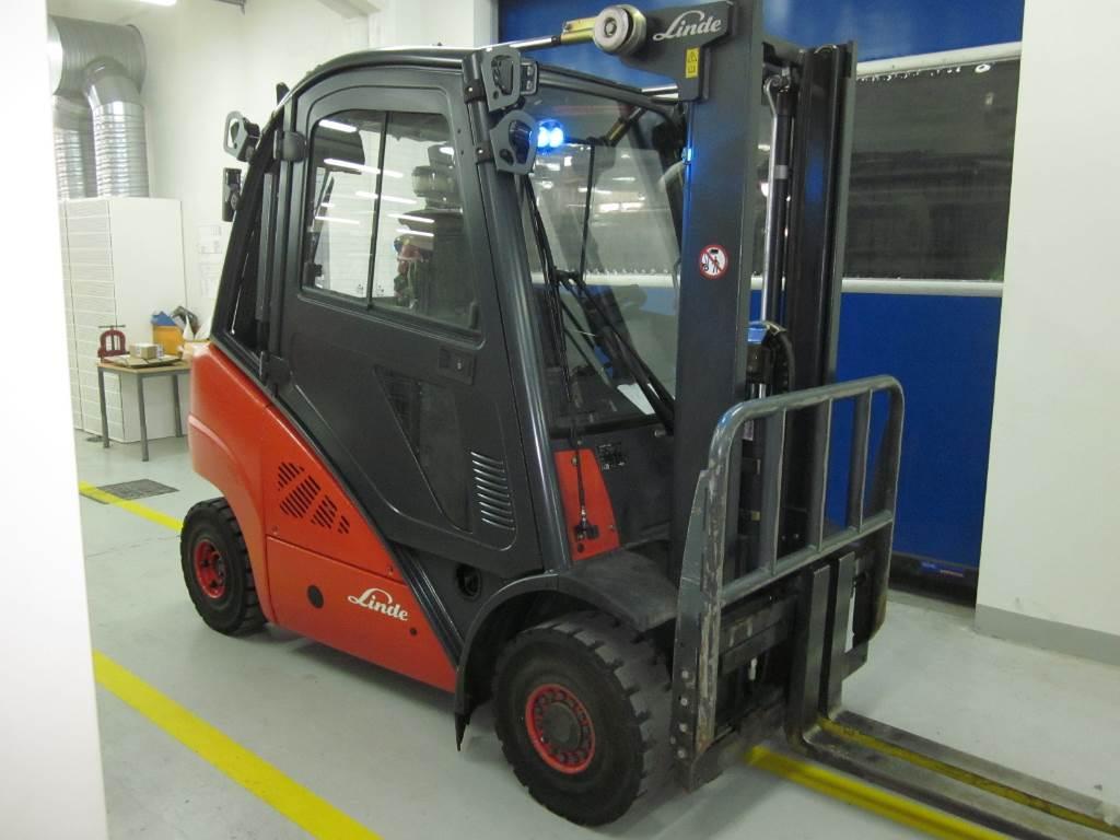 LINDE H25D, Dieseltrukit, Materiaalinkäsittely