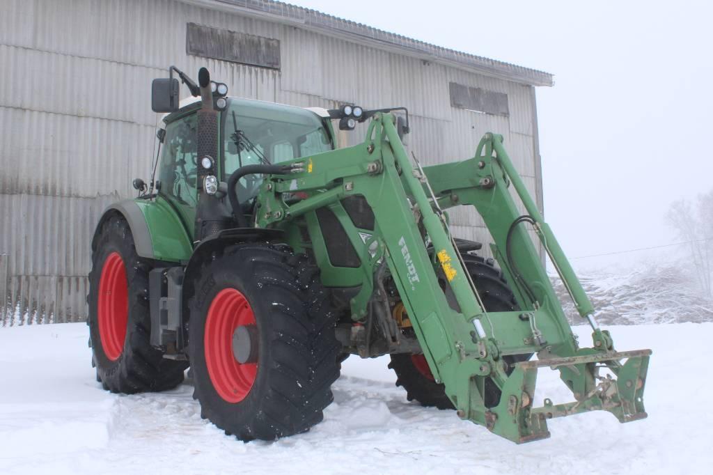 Fendt 724 Vario, Traktorid, Põllumajandus
