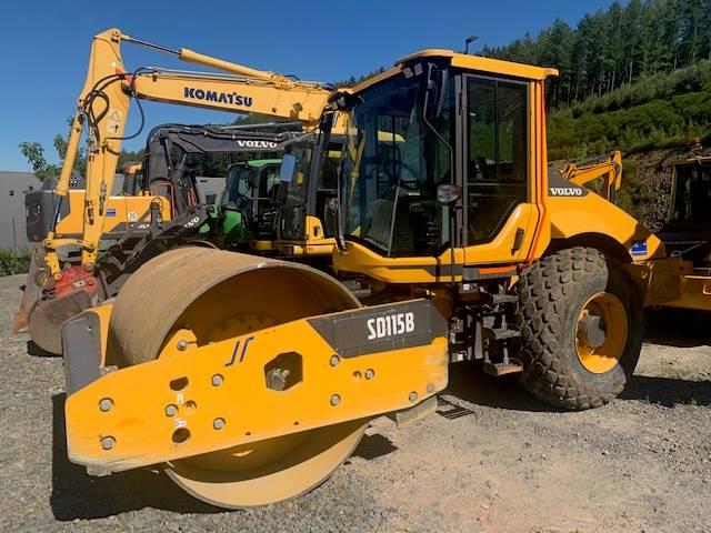 Volvo SD 115 B, Single drum rollers, Construction Equipment