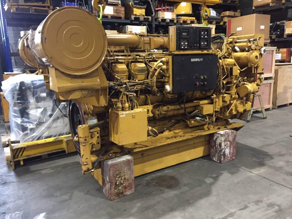 Caterpillar 3516 B - Marine Propulsion - 2000 HP - 8KN, Marine Applications, Construction