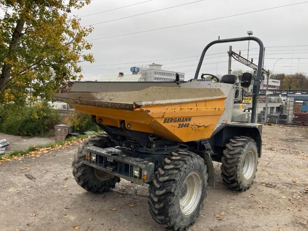 Bergmann 2040 R, Site Dumpers, Construction Equipment