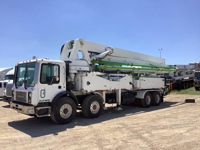 Schwing 42M, Boom Pumps, Construction Equipment