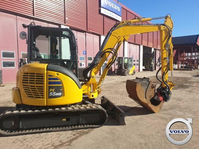 Komatsu PC55MR-5, Mini Excavators <7t (Mini Diggers), Construction Equipment