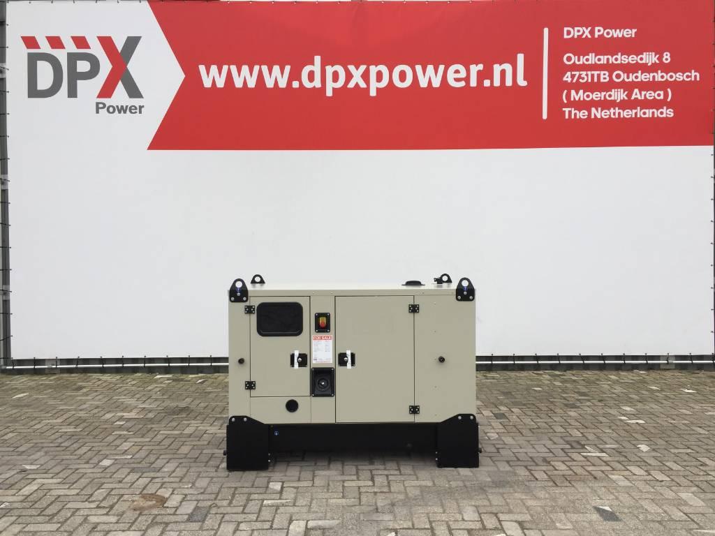 Mitsubishi 33 kVA Generator - Stage IIIA - DPX-17801, Diesel generatoren, Bouw