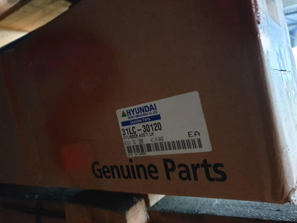Hyundai Cylinder Assy LH 31LC-30120, Hydraulics, Construction