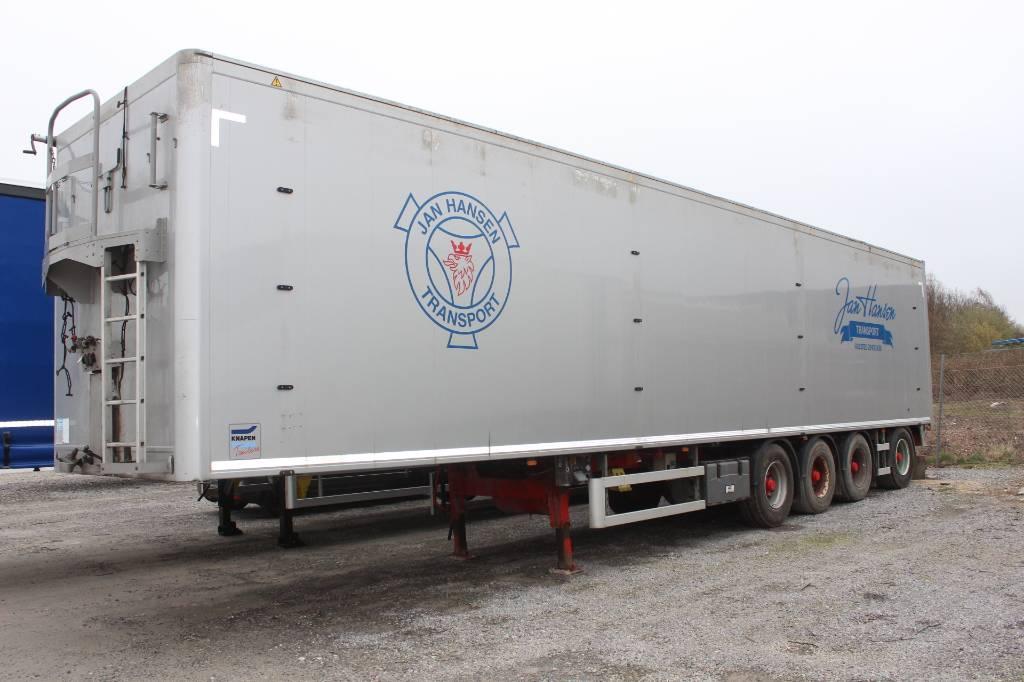 Knapen 4 akslet Wallking floor, Walking floor semi-trailers, Transport