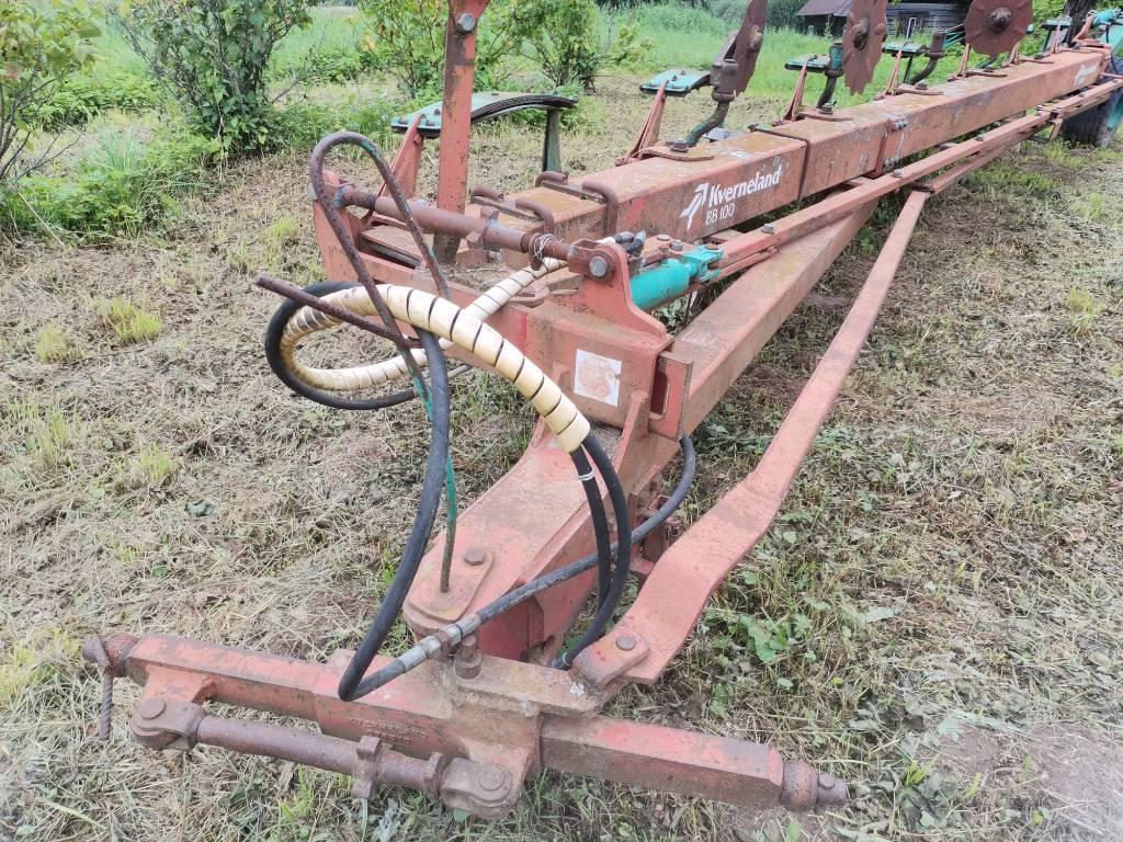 Kverneland 7 hõlma, Tavalised adrad, Põllumajandus