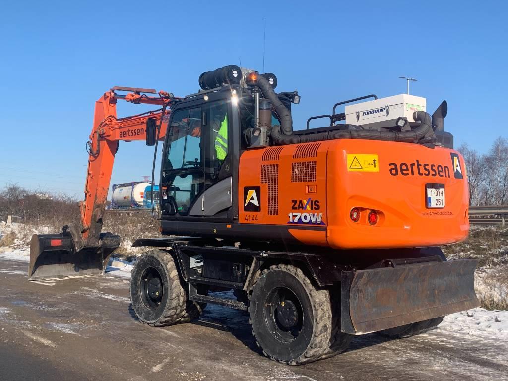 Hitachi ZX 170 W-6, Wheeled excavators, Construction