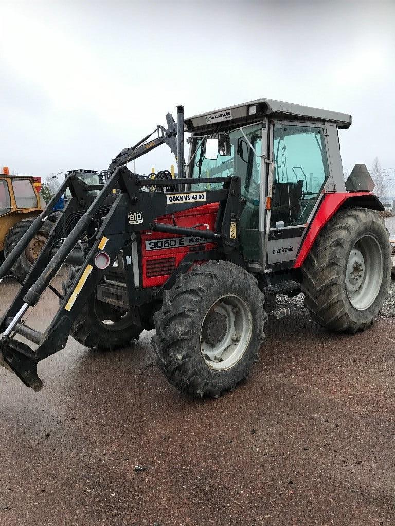 Massey Ferguson 3050E, Ålö 4300, Traktorer, Lantbruk
