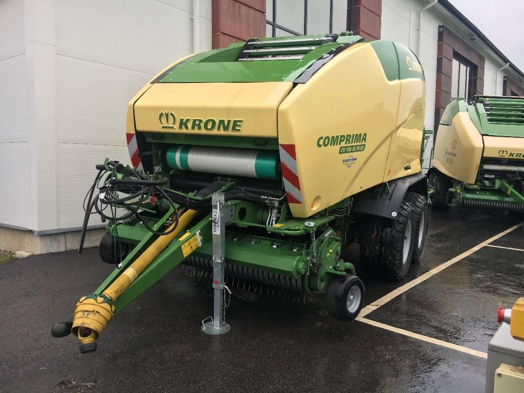 Krone Comprima CV 150 Plus Demo, Rundbalspressar, Lantbruk