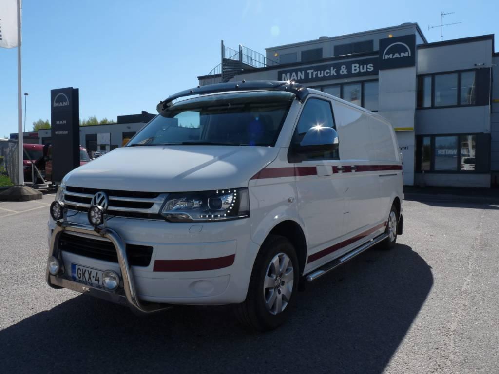 Volkswagen Transporter pitkä 2,0 TDI 103 kW DSG, Pakettiautot, Kuljetuskalusto