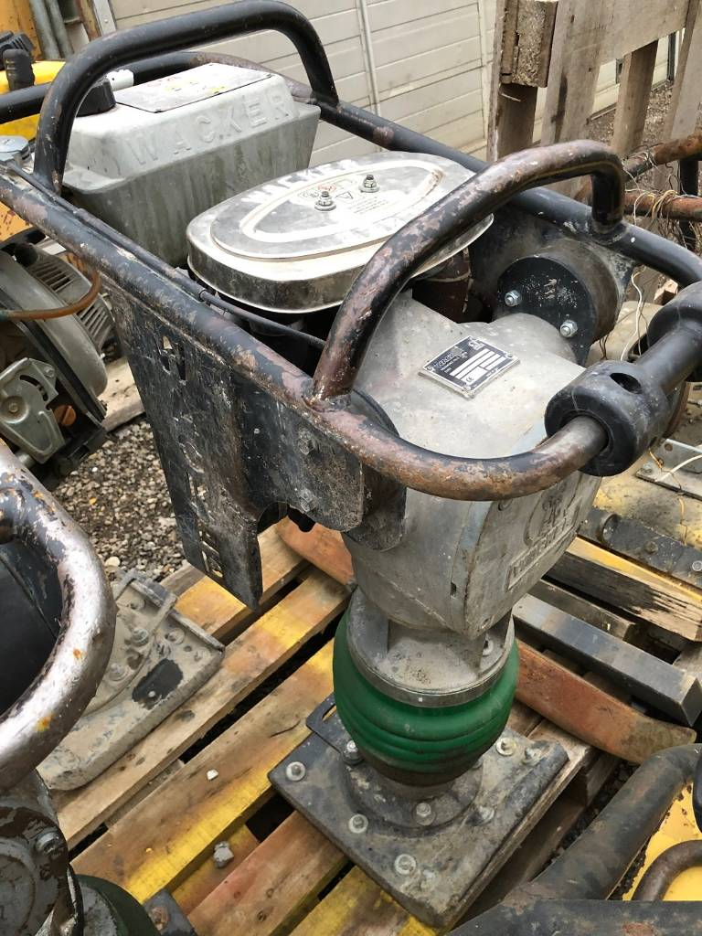 Wacker BS60-2i, Stampfer, Baumaschinen