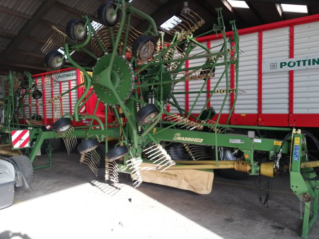 Krone swadro 1000, Swathers \ Windrowers, Agriculture