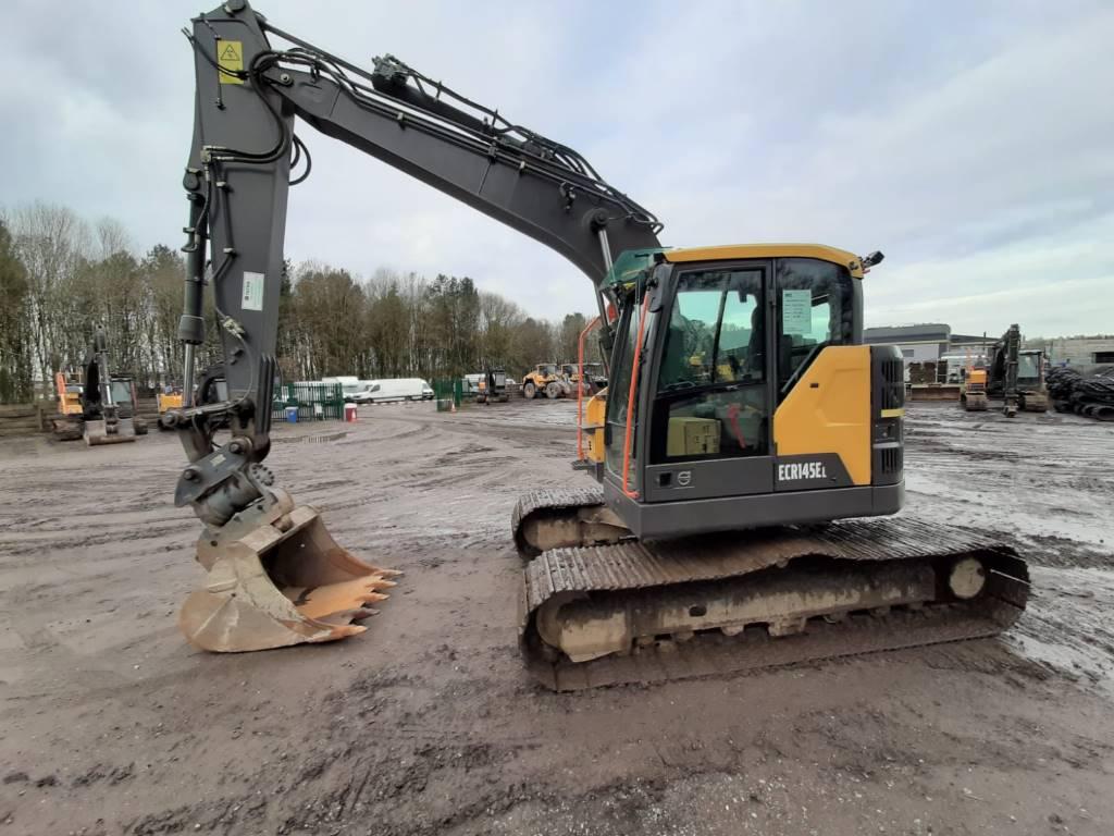 Volvo ECR145EL, Crawler Excavators, Construction Equipment