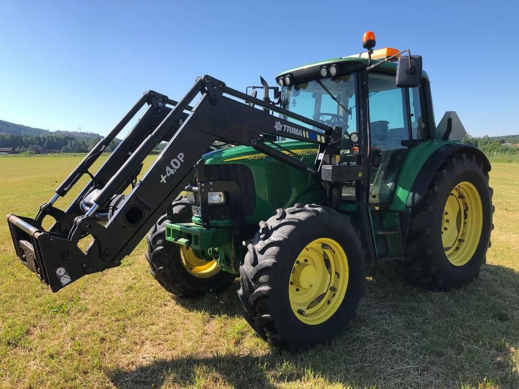 John Deere 6420 S Premium, Traktorer, Lantbruk