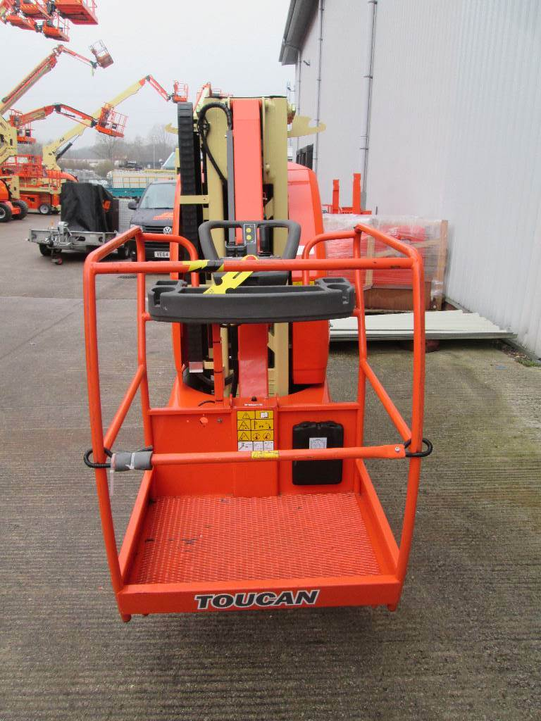 JLG T10E, Boom Lifts, Construction