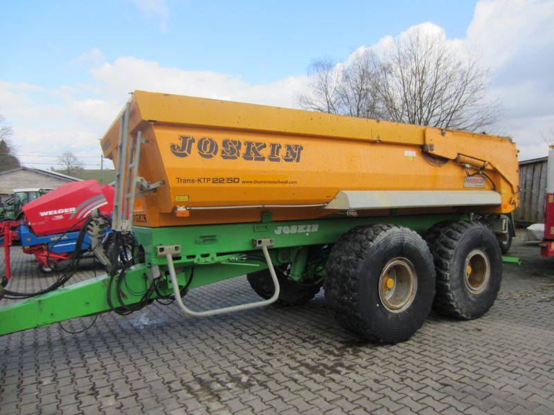 Joskin Trans-KTP 22/50, Benne céréalière, Agricole