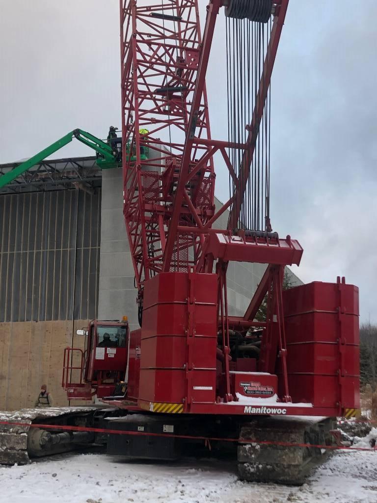 Manitowoc 14000 S2, Tower Cranes, Construction Equipment