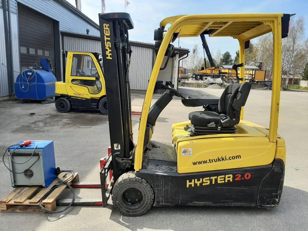 Hyster J2.0XNT, Sähkötrukit, Materiaalinkäsittely
