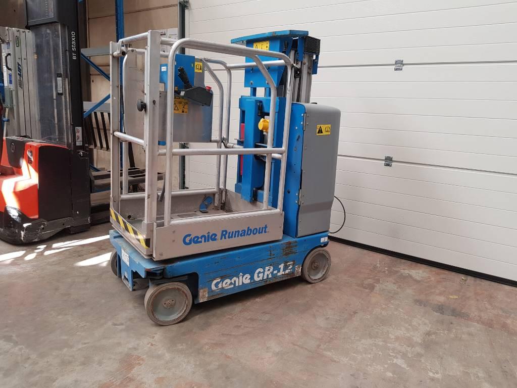 Genie GR 12, Personenliften en invalideliften, Bouw