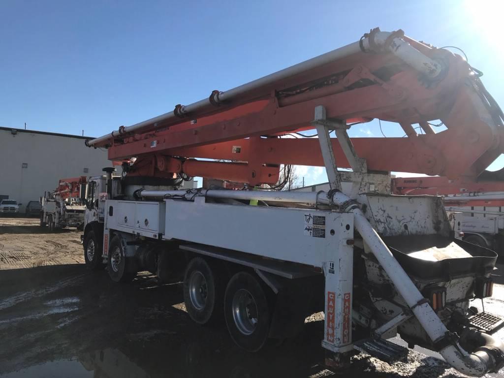 Schwing KVM47MSX, Boom Pumps, Construction Equipment