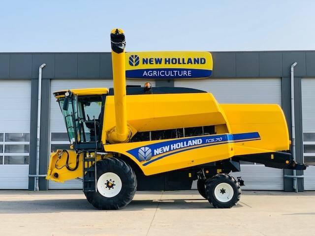 New Holland TC 5.70, Maaidorsmachines, Werktuigen