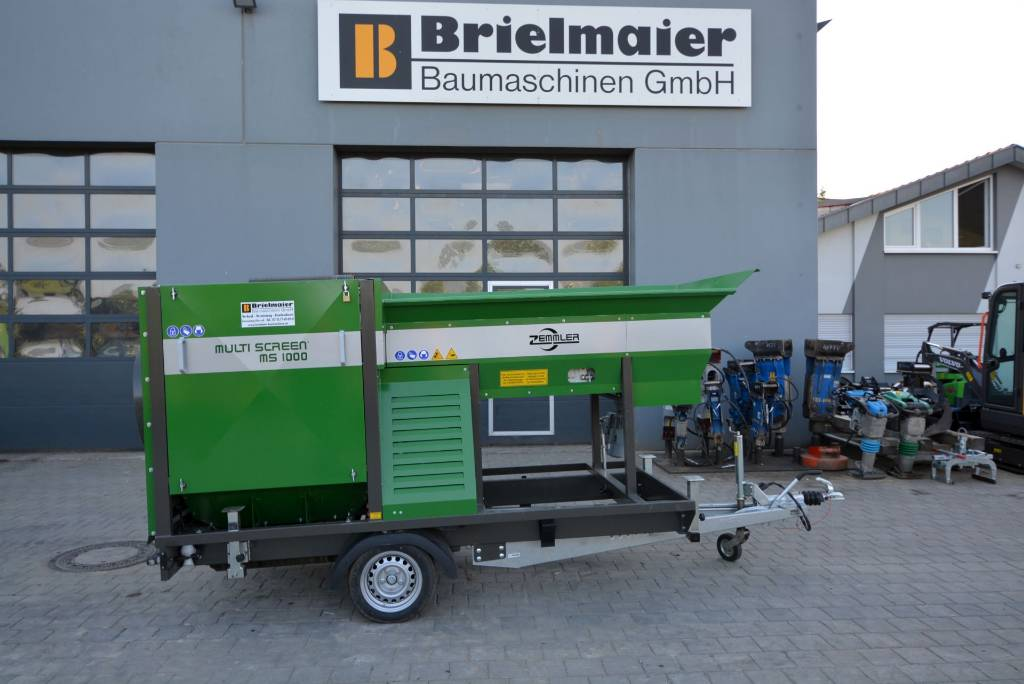 Zemmler MS 1000, Mobile Siebanlagen, Baumaschinen