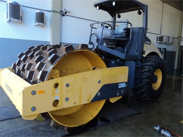 VOLVO SD105F, Soil Compactors, Construction Equipment