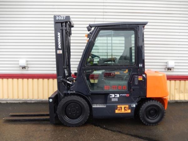 Doosan D33S-5, Dieselmotviktstruckar, Materialhantering