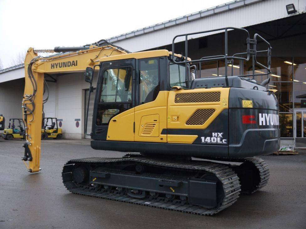 Hyundai HX 140 LC UUSI, Telakaivukoneet, Maarakennus