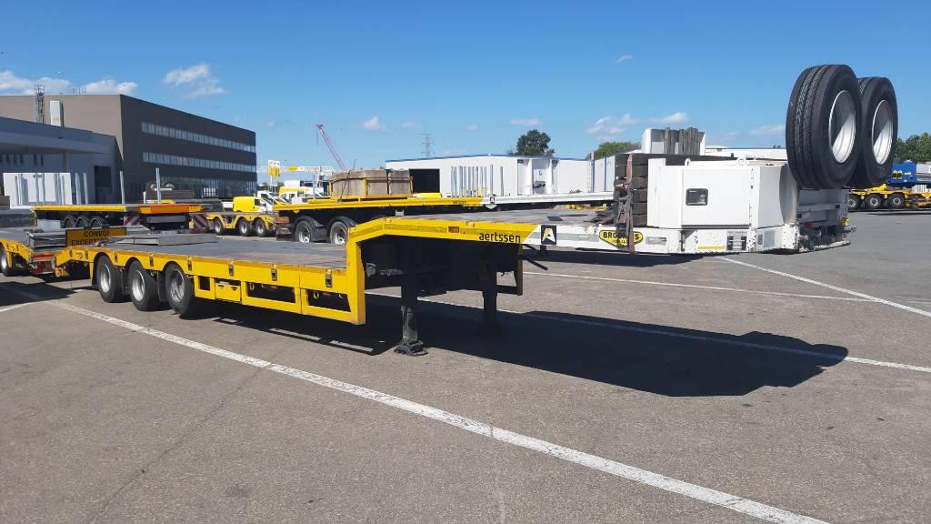 Broshuis E-2190/27 4 pcs  (6m extendable), Low loader-semi-trailers, Transportation