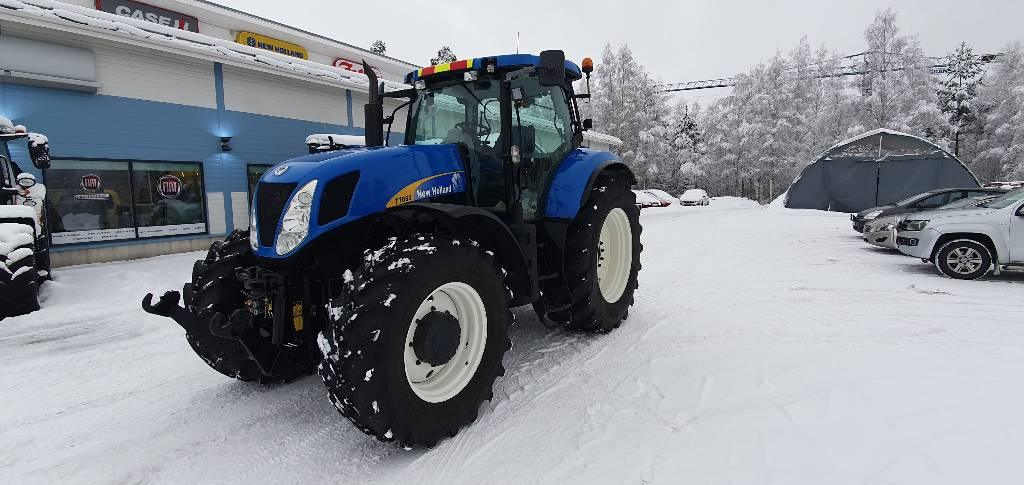 New Holland T 7050 PC, Traktorit, Maatalous