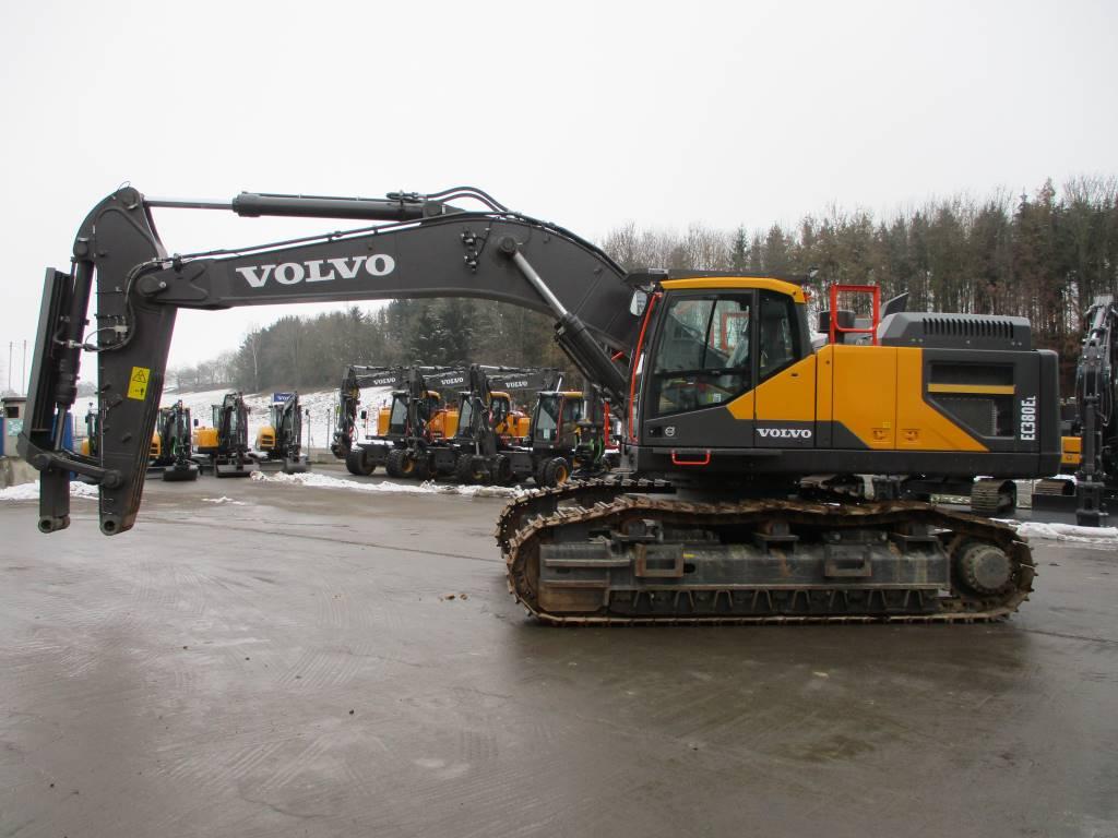 Volvo EC 380 E, Crawler Excavators, Construction Equipment