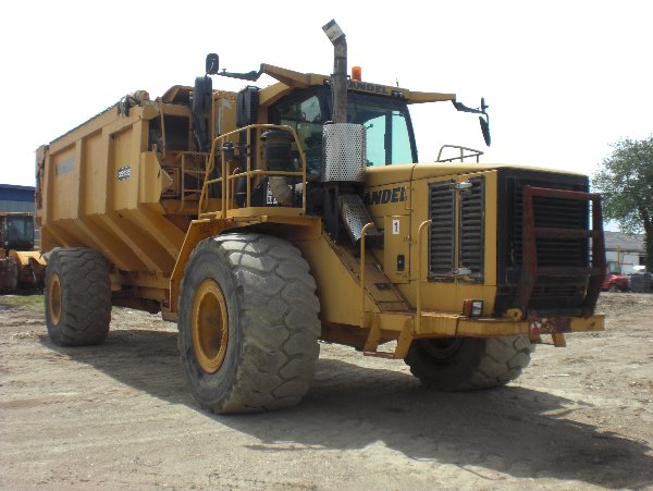 Vandel QS 1350, Articulated Dump Trucks (ADTs), Construction Equipment
