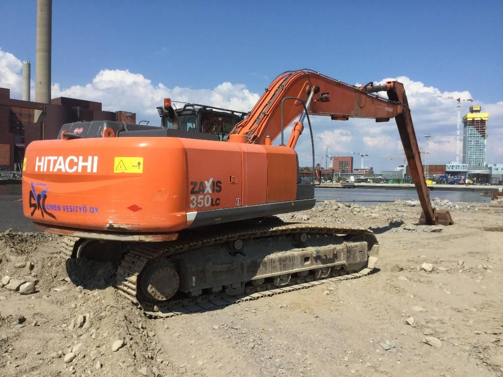 Hitachi ZX350LC-3 SLF, Grävmaskiner med lång räckvidd, Entreprenad