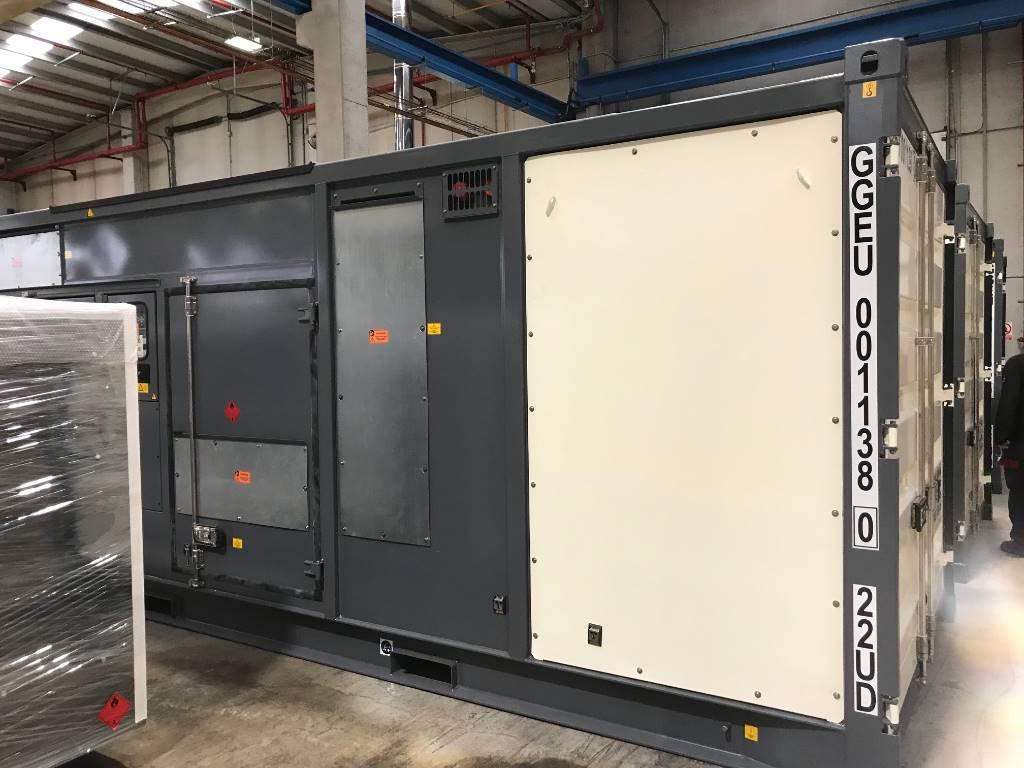 Atlas Copco QEC 1200, Diesel Generators, Construction