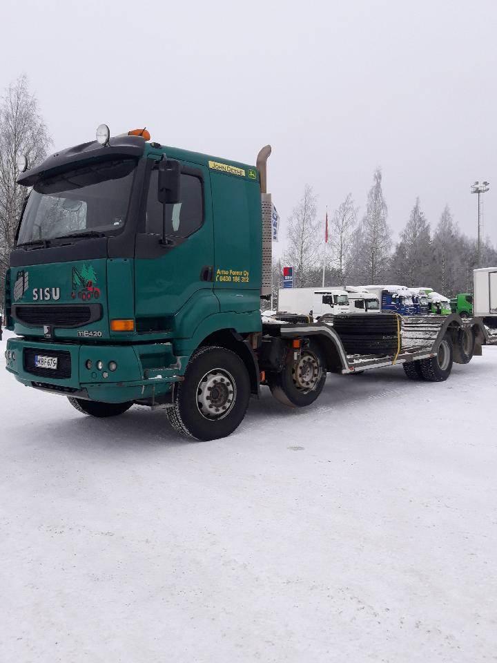 Sisu E 11 8X2, Muut kuorma-autot, Kuljetuskalusto