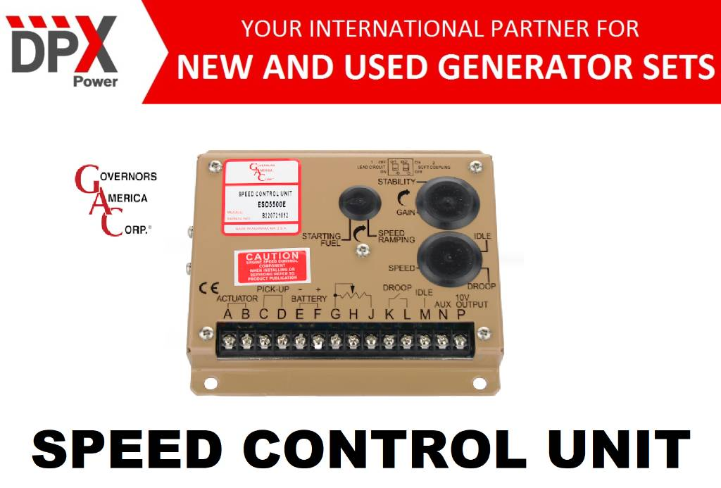 [Other] G.A.C. Speed Control Units - DPX-25041, Anders, Bouw