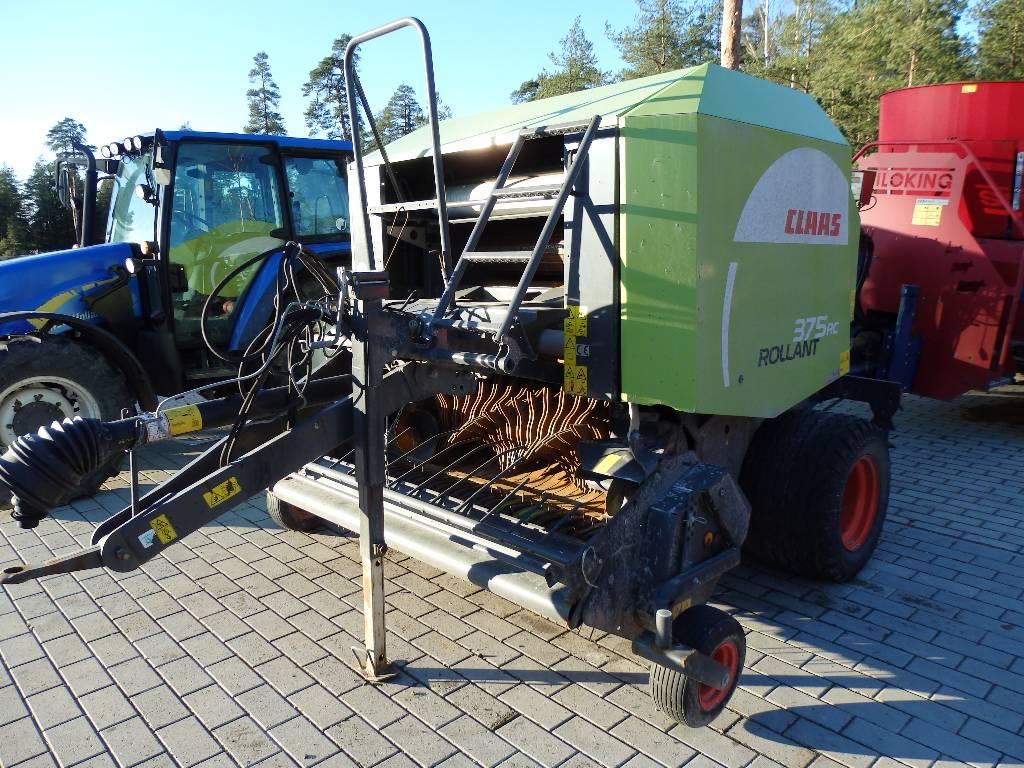 CLAAS Rollant 375 RC, Ruloonpressid, Põllumajandus
