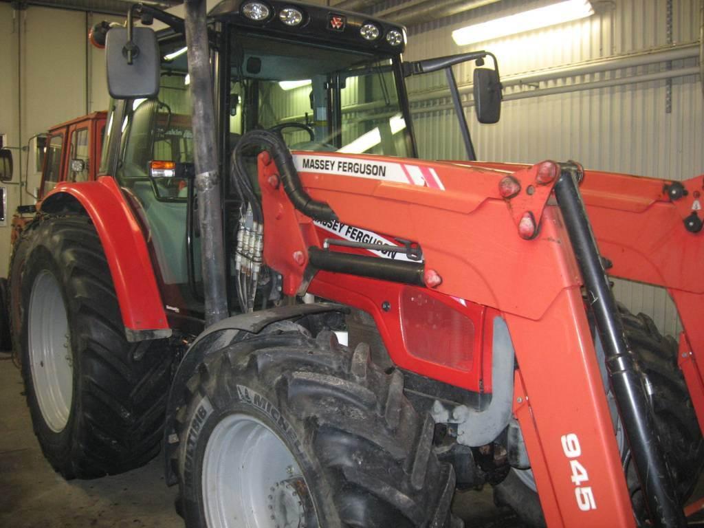 Massey Ferguson 6455 4WD, Traktorer, Lantbruk