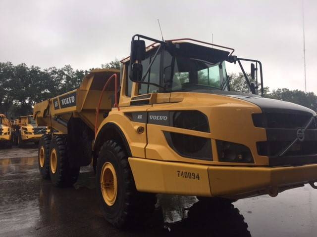 Volvo A25G, Articulated Dump Trucks (ADTs), Construction Equipment