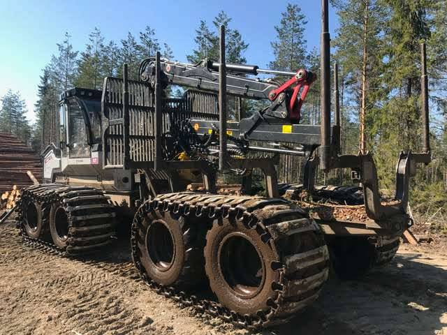 Logset 5F GT, Forwarders, Forestry