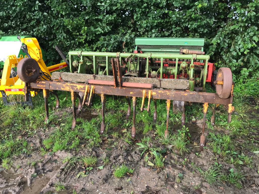 Rumpstad Vaste tand cultivator, Cultivatoren, All Used Machines
