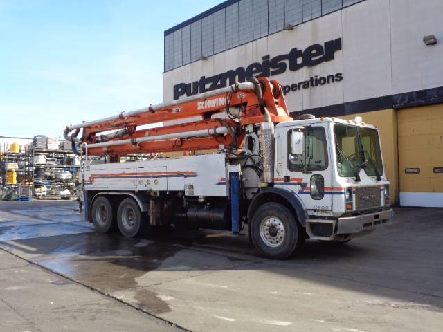 Schwing BPL 1200-HDR25 KVM32X LG, Boom Pumps, Construction Equipment