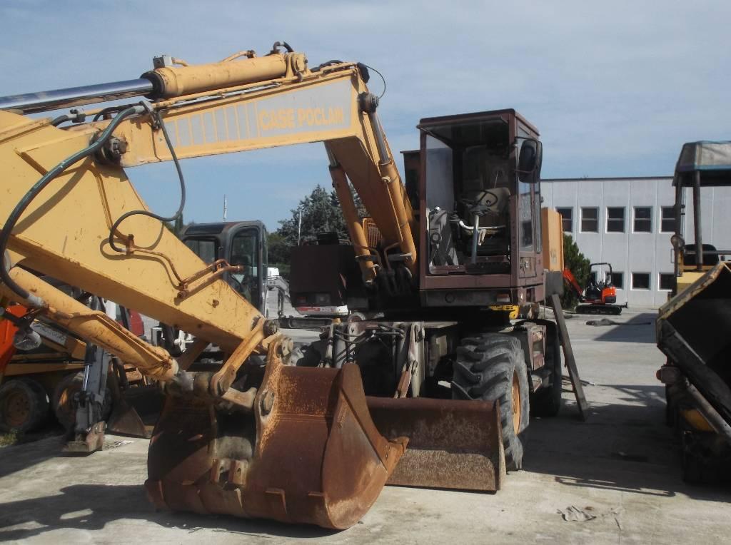 CASE 1088 P, Wheeled Excavators, Construction Equipment