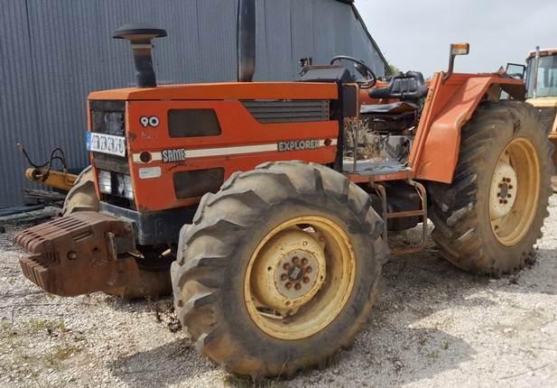 Same Tractor 90 : Used tractor same explorer para recuperação tractors