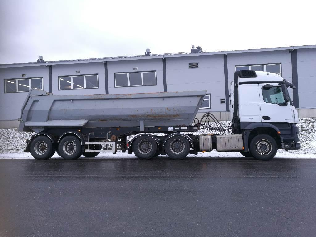 Mercedes-Benz Arocs 2645 + Meiller Kipper, Tipper trucks, Transportation