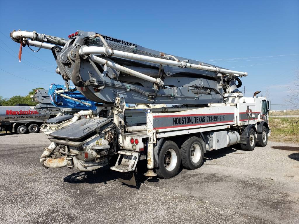 Putzmeister BSF 47Z, Boom Pumps, Construction Equipment